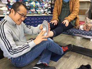 足と体のバランス評価